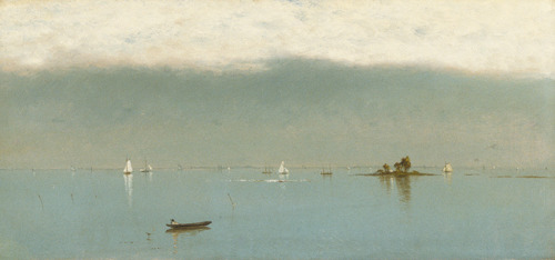 ON TOPIC: The Last Summer Paintings, by John Frederick Kensett Passing Off of the Storm, 1872