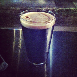 Brewing Company: Harpoon Brewery; Boston, MAName: Harpoon Chocolate StoutStyle: American StoutABV: 5.9%Serving type: draughtPrice: Not exactly sure because a friend bought this for me, but I'd guess ~$6.50 at WOB Aroma:  Smells phenomenal!! Like deep chocolate. So good. Smells like eating a bar of chocolate. I can't get over how good this beer smells. Appearance: Beautiful dark tan head. Not great retention. Nice lacing. Very dark color. Practically black. Very opaque. Taste: Oh. My. God. This is so delicious. Like out of control delicious.  Deep chocolate flavor. Like a deep chocolate milk.  Tastes as good as it smells.  So smooth! Good medium carbonation. Goes down so smooth. Easy to drink. Light to medium body. Finish: Small after taste. Nice and light bubbles down the throat.  So chocolaty! I could drink all of the beers.  Seriously.  This beer is wonderful.  Much better chocolate milk. Rating: 5/5 Highly Recommended. Wrote this review on my phone at the bar (as I do most of my reviews…) and I'd already had a shot and a beer before this, so I was a wee bit tipsy. I still think it's accurate, albeit a bit scattered. <3, c.