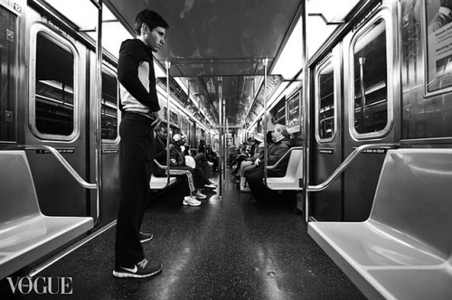 nyc subway (Vogue) on Flickr.