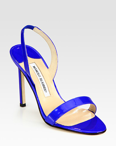 Thursday night blues courtesy of Manolo Blahnik!