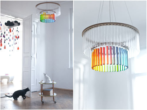 scienceygoodness:  Test Tube Chandelier!