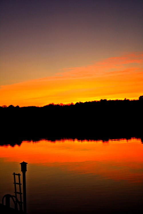Eagle Lake Sunset @ Haliburton, ON.