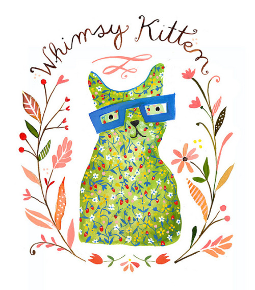 Happy St. Caturday!  Whimsy Kitten Rebranding by katiedaisy  via magicfran
