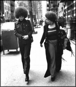 lucid-images:  American Icons  Angela Davis and Toni Morrison