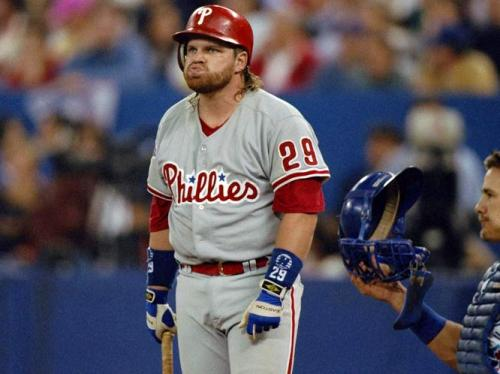 Happy 51st birthday to former Phillie John Kruk, who once had a mullet as sweet as his swing.