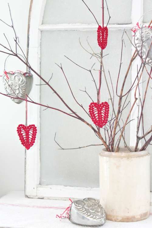 Valentine tree reblogged by L'Art de la Curiosité