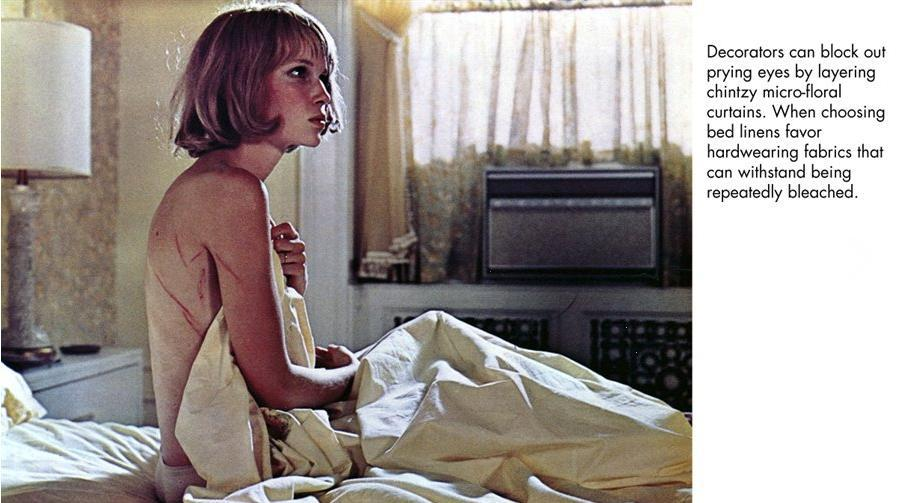 Rosemary's Baby gets the Unhappy Hipsters treatment in this cheeky reflection on the classic thriller