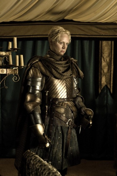 fuckyeahwinterfell:  Brienne of Tarth photo credit: Helen Sloan