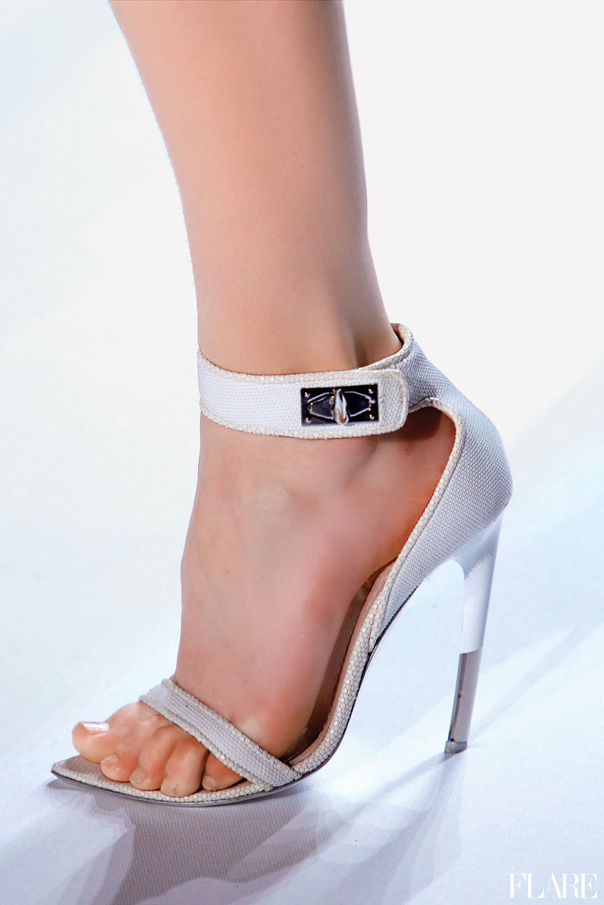 Givenchy - Spring 2012 / Photographer: Anthea Simms Spring Shoe Guide: See the season's best footwear. Addicts only!