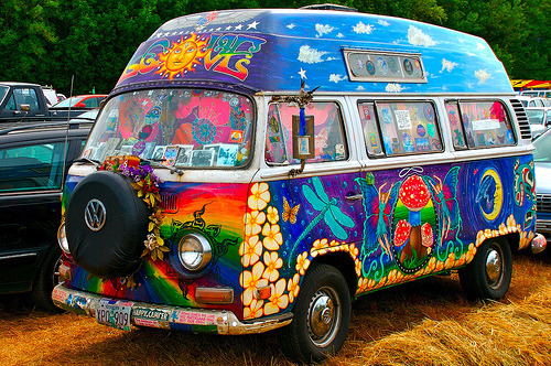 gofuckingnuts:  bus, cars, cool, cute, hippie - inspiring picture on Favim.com on We Heart It. http://weheartit.com/entry/13390036   I think it looks…Fucking ugly !