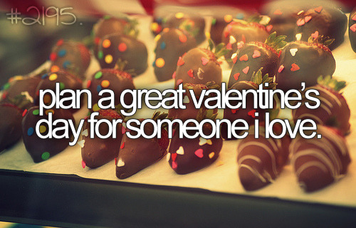 i hate valentine's day but i can't wait to do this :)