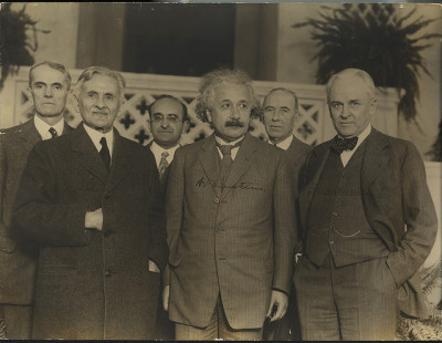 Portrait of Albert Einstein and Others (1879-1955), Physicist by Smithsonian Institution on Flickr.
