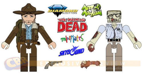 Earlier today CBR posted about NEW THE WALKING DEAD minimates! Check out the details here!