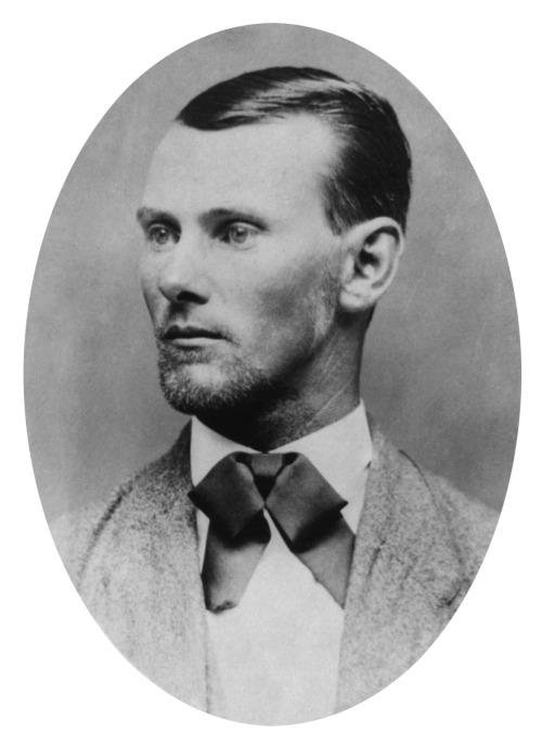 Outlaw Jesse James, ca. 1882.