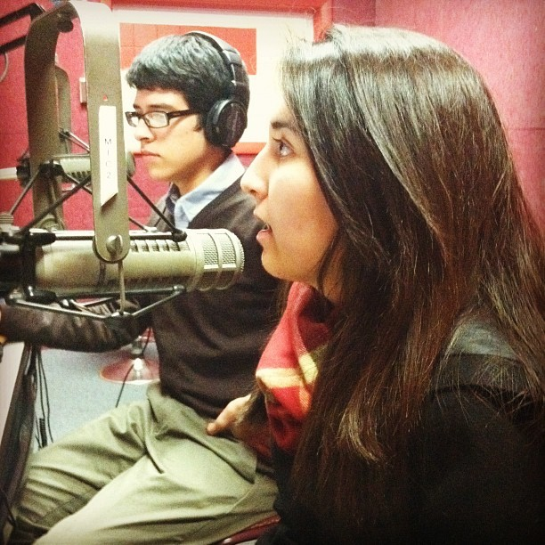 @joshhoyos @h_doubleyou at @WRNU #rutgers #newark (Taken with instagram)
