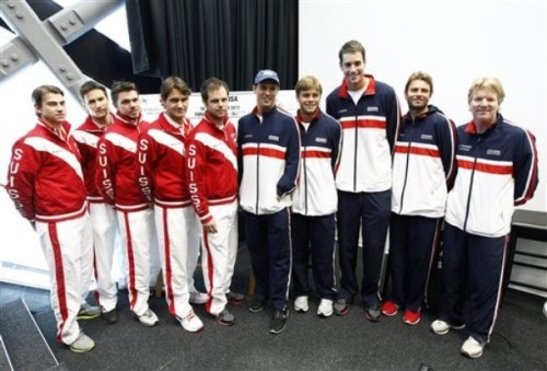 Wow - this picture really puts in perspective how tall John Isner is.