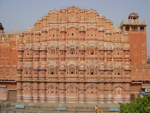 "100 Wonders Of The World Hawa Mahal (India)Hawa Mahal, The ""Palace of the Winds"", is the emblem of the City of Jaipur about 300km south-west of Delhi. Although little more than its facade survives, it is one of the most-photographed buildings of the subcontinent."