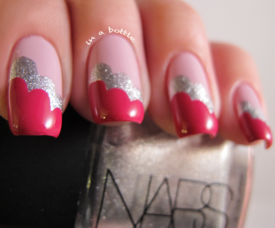 gemsinabottle:  Check out this Nailside Cloud design Valentine's edition on Gems in a Bottle! Natalie <3