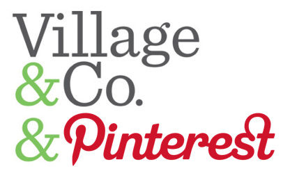 "Village&Co. & Pinterest It's been called the fastest growing site on the web, and while another network actually holds that distinction, you can't deny the massive growth and interest Pinterest has achieved in such a short time. It's hard to argue with over 4 million users within a year of operation and 11.7 million unique monthly visitors. So what does Pinterest have that other networks don't? Well for starters, it's easy. Crazy easy. The ""Pin It"" bookmarklet captures images from nearly any online resource, users can upload content from their desktops, and their app allows for mobile photo uploads. Couple that with highly visual and engaging content, and it's hard to resist the charms of this digital, social scrapbook. We're always excited by the possibilities that come with a new social network and have been inspired by the creative uses people and brands have found for their pinboards so far.  The only drawback for this open network (at this moment) is the need for an invite to join the pinning party; don't worry, they're not too hard to come by. Whether you're just getting started, or are a Pinterest Pro, follow our boards - we'd love to connect and share with you."