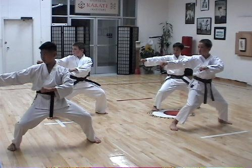 Tekki Shodan. I'm trying to figure out how old I was in this pic…..