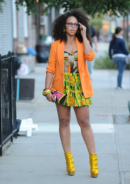 blackfashion:  Elle Varner