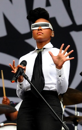 Elegant: Quirky: Sexy: Chic: The fabulous Janelle Monae !