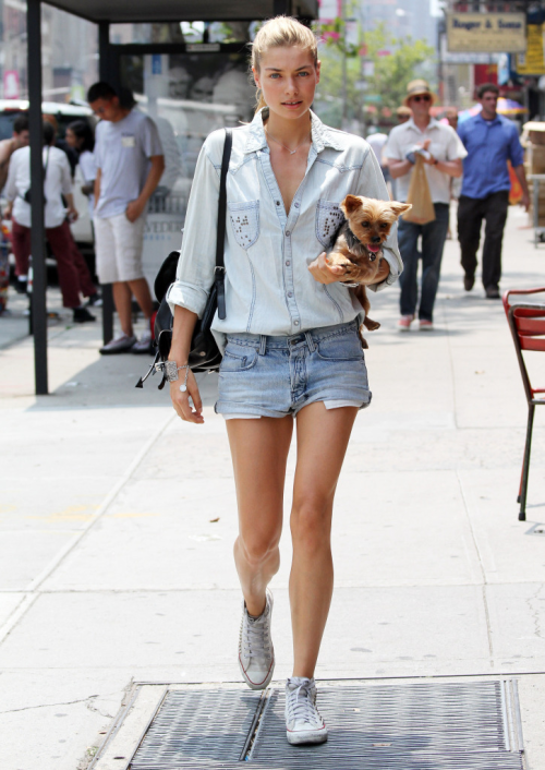 f-use:  e-lit-e:  denim, and an adorable puppy!  q'd. Hey, this is f-use. I'm taking a small break from tumblr. Please don't unfollow, and feel free to delete this :)