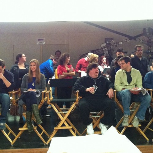 icarlynewscom:  Well, As they sit around JUDGING the Cast …no pressure! ;D