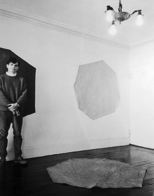 pacegallery:  Reblog of the day!  Happy Birthday Richard Tuttle! danielshea:  Tuttle, '67.