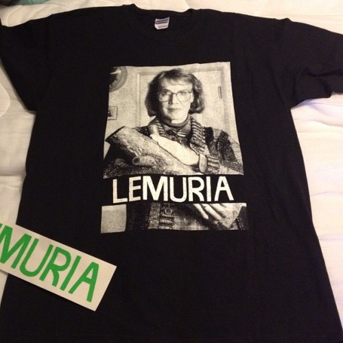 look what Dereck got me!!! #loglady #twinpeaks #lemuria (Taken with instagram)