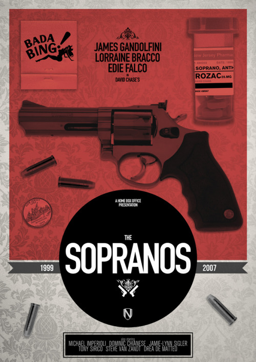 The Sopranos Artwork by Matt Needle