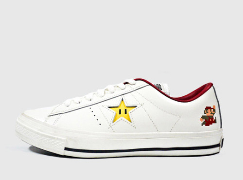 videogamenostalgia:  Converse One Star Super Mario Bros.  Available in Japan March 2012.  (via: Geeks Are Sexy)