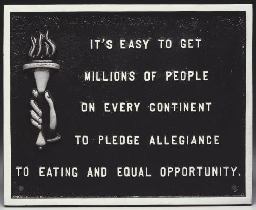 Jenny Holzer, from Survival Series, 1983-85