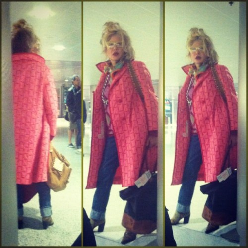 She swagg thee fux out! Only @ Miami International Airport  (Taken with instagram)