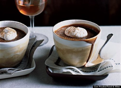 e-levated:  Chocolate Pots de Creme