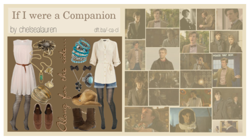 If I were a Companion | Original Set - Click here!  If I were The Doctor's Companion, I'd want to visit Sherlock and John as the first stop on my crazy adventure!
