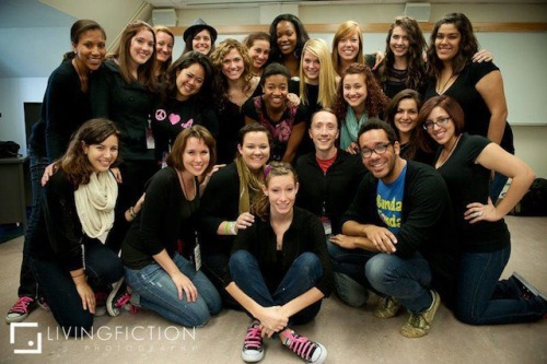 facingfelicity:  Hey y'all! The all female a cappella group at FSU, the AcaBelles, is producing another album and need a little bit of help to do it!  It would mean a lot to me if you could check out this video and consider donating even a dollar to our cause, as I happen to be one of the members… and we need that one dollar! :D http://www.kickstarter.com/projects/acabelles/acabelles-newest-album-seamless Even if you don't donate…please reblog this to your friends and family who would be interested.  Who knows…maybe your brother's cousin LOVES a cappella!   Thanks!