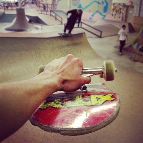 #mallgrab @streetssk8park #skateboarding #miniramp #michigan #pk #skatepark #burnerz #scumlife  (Taken with Instagram at The Streets Skatepark)