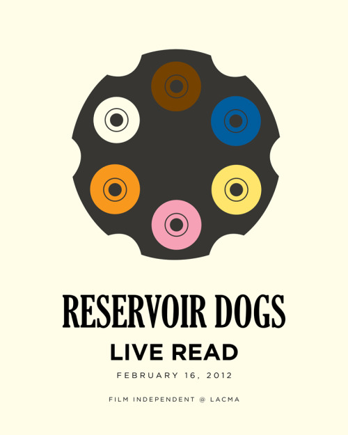 Reservoir Dogs by Matt Owen for Live Read at LACMA