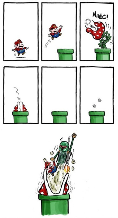 svalts:  It's a me, Boba! - by Caetano Cury Blog | Twitter (Via: robtimusalanhintonian)