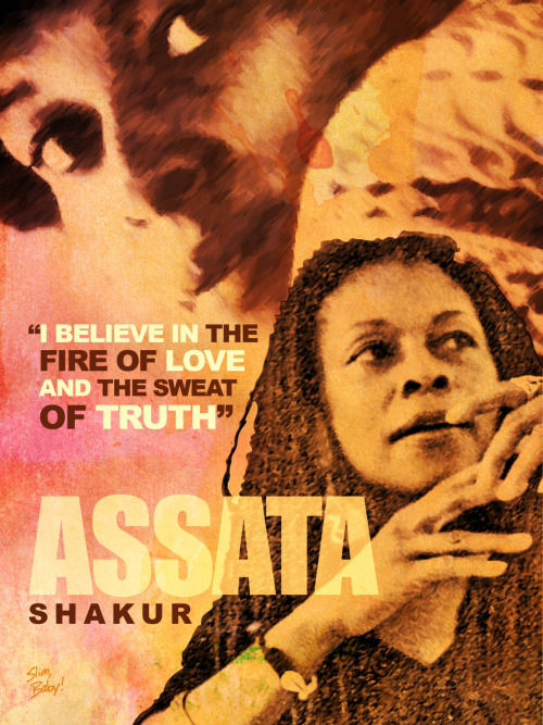 blackhistoryseries:  Assata Shakur #BlackHistoryMonth Tribute Design (2/10/12)