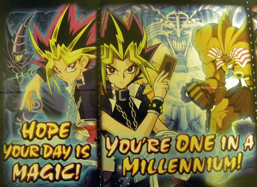 Found my Yugioh Valentines from 6th grade.