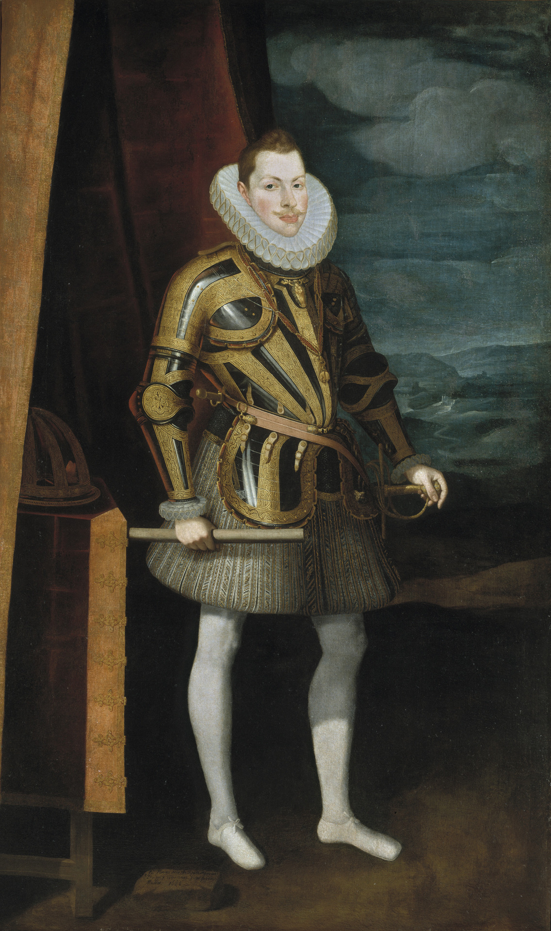 spanishbaroqueart:  Juan Pantoja de la Cruz King Philip III of Spain (1606) Museo del Prado, Madrid, Spain Spanish Royalty · Volume 2