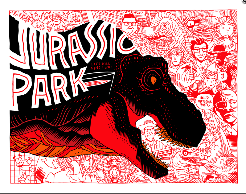 Movie posters complete me…#jurassicpark