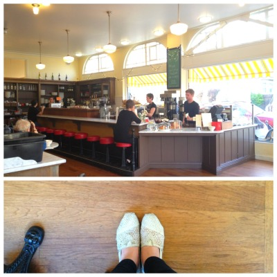 Elmwood Cafe - Berkeley, CA This is my happy place.  The way a cafe buzzes on a 70-degree, clear-skied afternoon is unparalleled. Today, instead of sitting down and getting sucked into a novel or the black hole (called the Internet), I enjoyed a perfectly sweetened chai and simply… was.