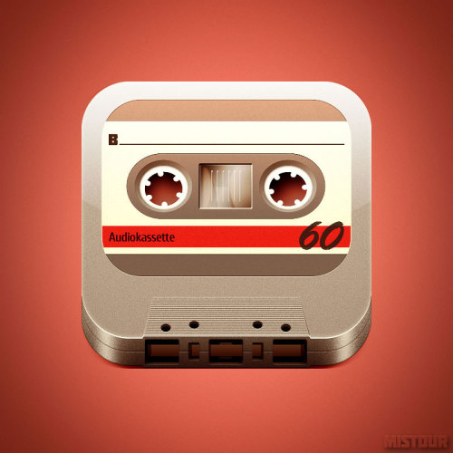 lindseygrande:  Tape Icon Design