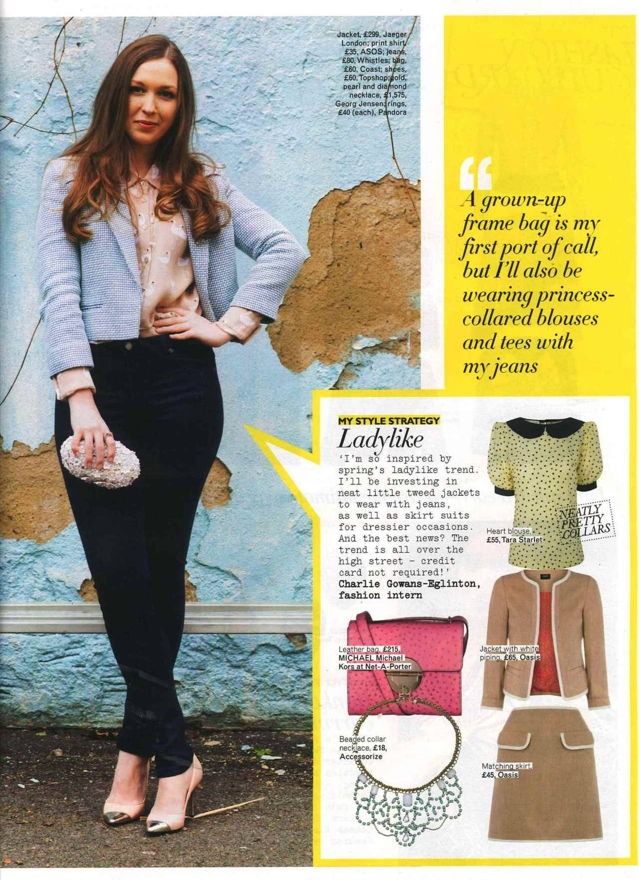 @TaraStarlet featured in Grazia. Click to shop!