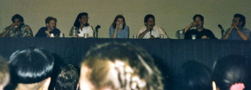 Joss Whedon & Cast at the San Diego Comic Con 98  lol. I was 7