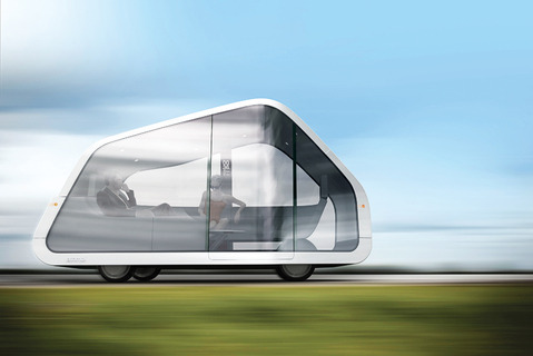 "San Francisco–based design team Mike and Maaike's concept car, the ATNMBL (the ""autonomobile""). (via FuturistSpeaker.com – A Study of Future Trends and Predictions by Futurist Thomas Frey » Blog Archive » 2 Billion Jobs to Disappear by 2030)"