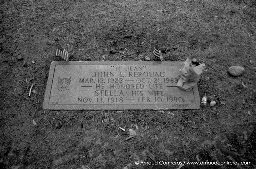 Lowell, Ma. End of the road for Jack Kerouac. 01/ 2012 © Arnaud Contreras / http://www.arnaudcontreras.com/